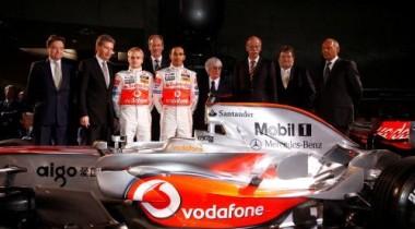 McLaren никак не может решить проблему с кнопками на руле
