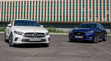Infiniti Q30 Sport против Mercedes-Benz A-class: крутизна внутри и снаружи