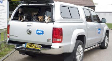 Volkswagen Amarok на службе у Королевского общества RSPCA