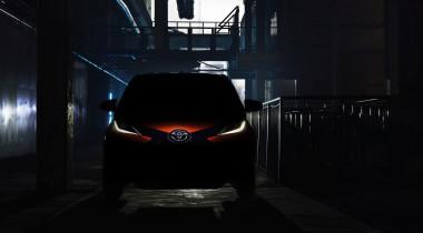 Toyota опубликовала тизер нового Aygo