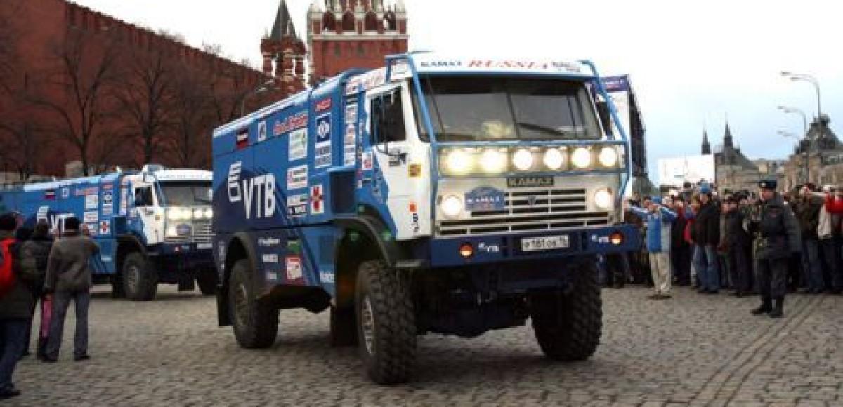 Команда «КАМАЗ-мастер» отправится в «Шелковый путь» на шинах Michelin