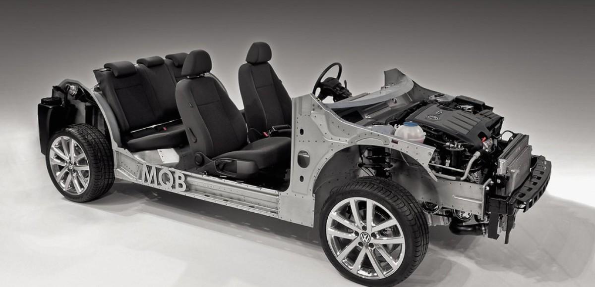Новая платформа VW. Ее назвали MQB