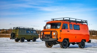 УАЗ представил экспедиционную версию «Буханки» за миллион рублей