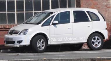 Папарацци сняли Opel Meriva нового поколения