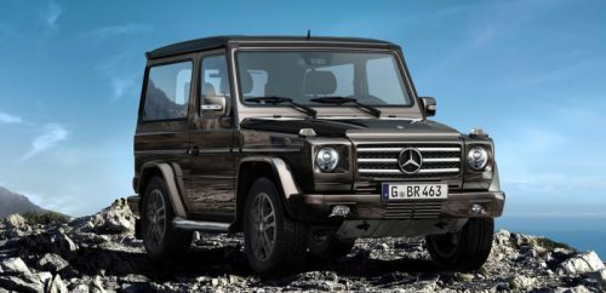Короткобазный Mercedes-Benz G-Class назвали BA3 Final Edition