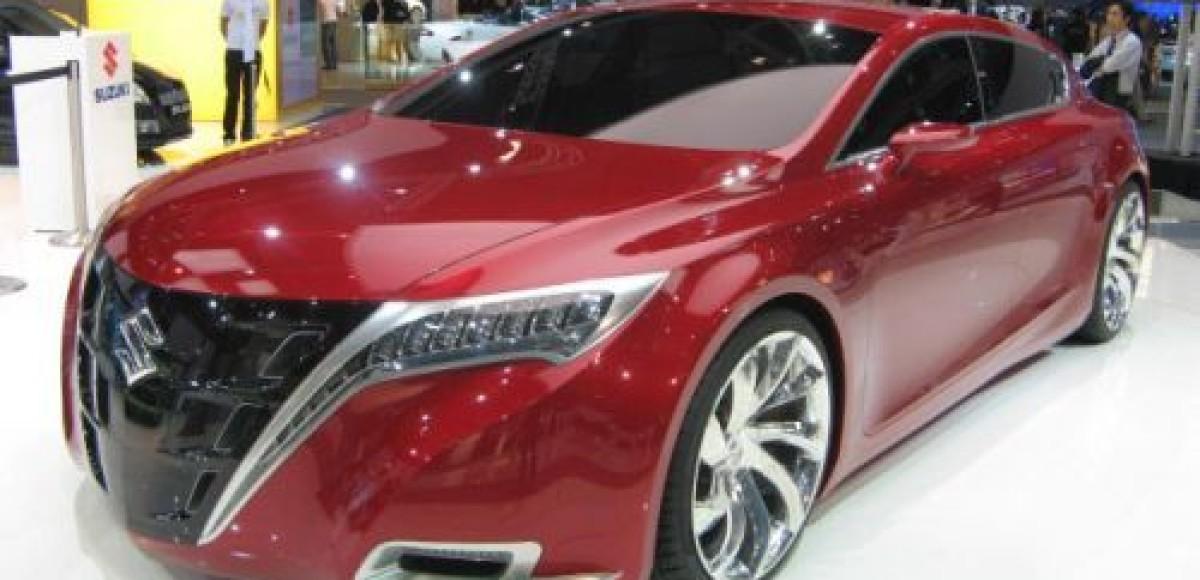 Suzuki привез на ММАС-2008 концепт Kizashi