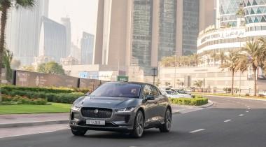 Jaguar показал беспилотный вариант кроссовера I-Pace