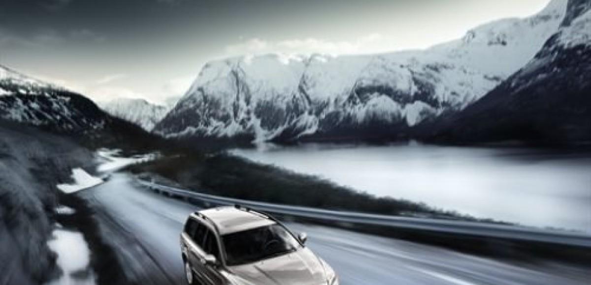 Холод и снег — обычные условия эксплуатации Volvo