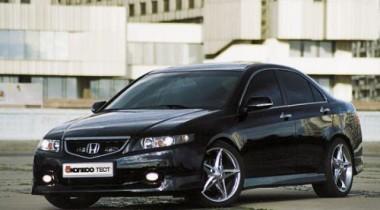 Honda Accord. Черный хром