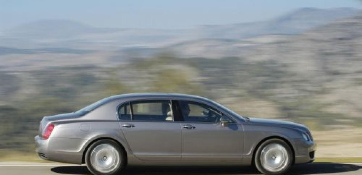 В Москве вновь похитили Bentley