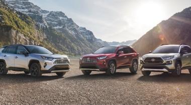 Новое поколение Toyota RAV4 показали в Нью-Йорке