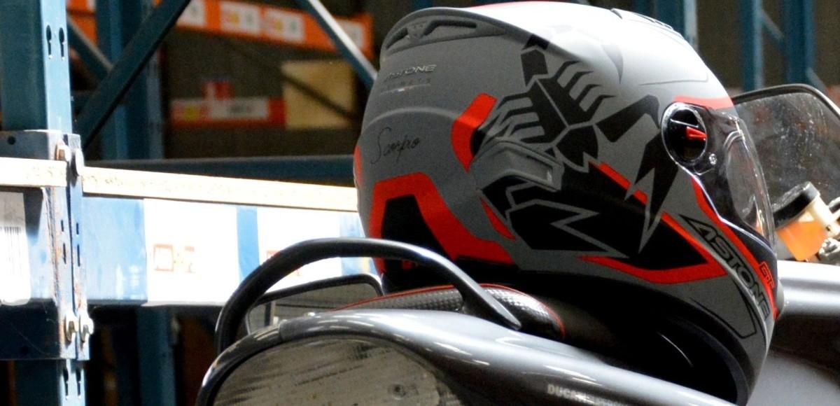 Французские шлемы ASTONE: у официальных дилеров STELS