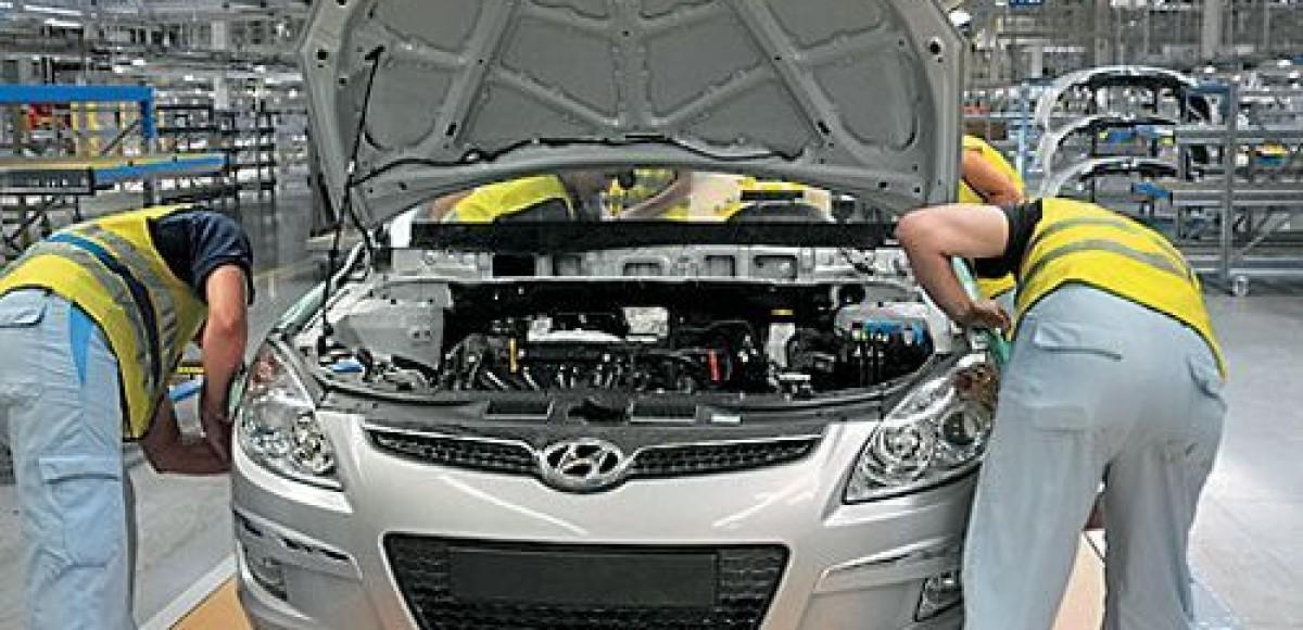 Hyundai запускает в тестовом режиме штамповочную линию завода в Санкт-Петербурге