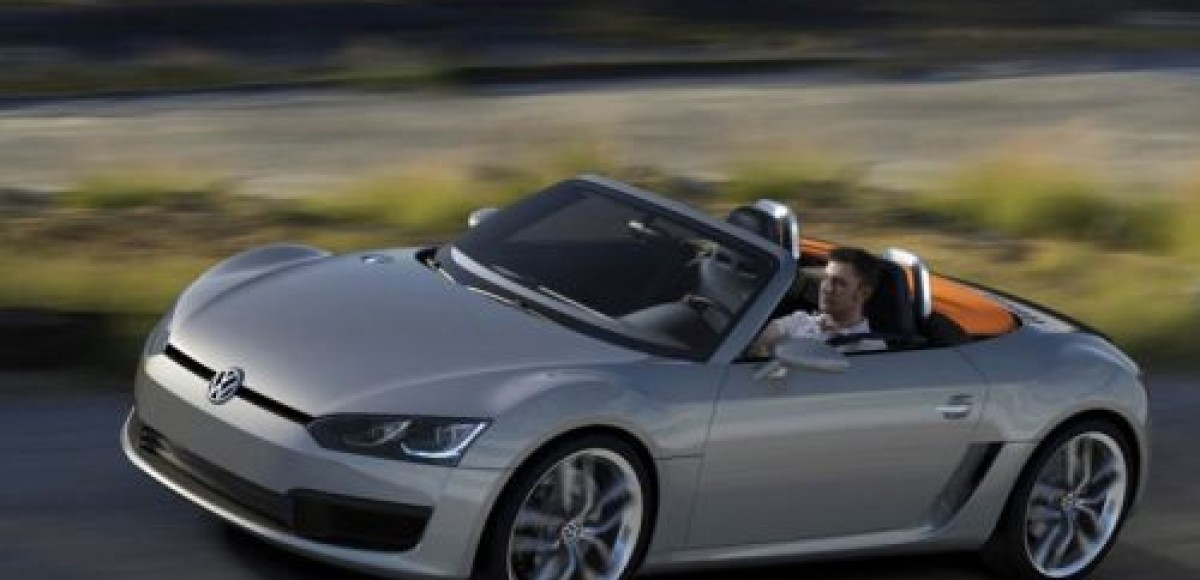 В Детройте Volkswagen представил дизельный родстер