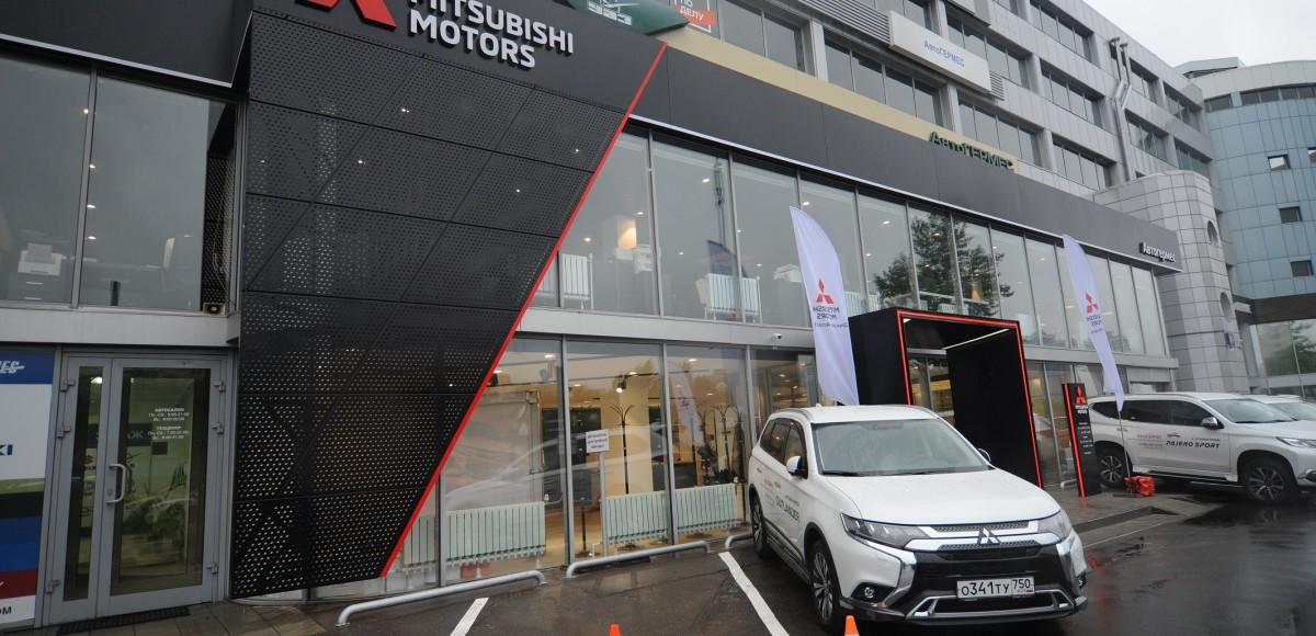 Mitsubishi Motors «АвтоГЕРМЕС» открылся в новом дизайне
