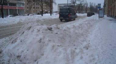 Мэр Москвы недоволен уборкой улиц от снега