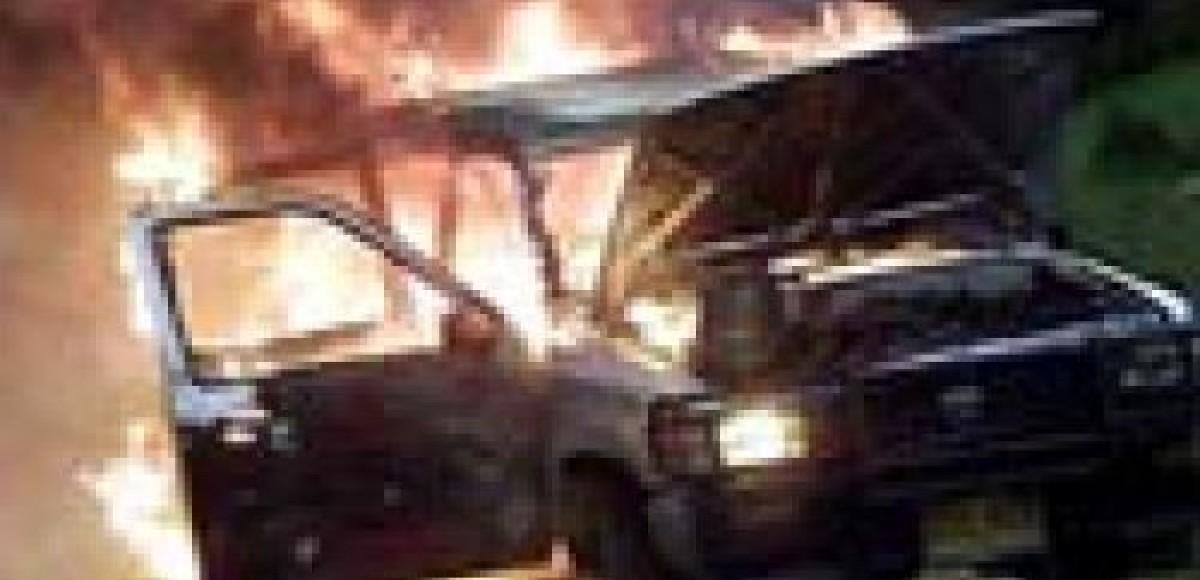 Французы отпраздновали Новый Год, поджигая автомобили