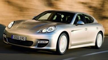 Шпионское видео Porsche Panamera