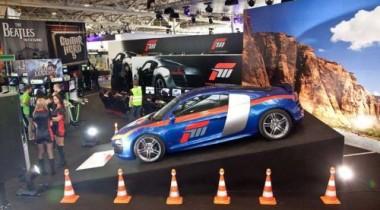 Audi R8 V10 стал персонажем компьютерной игры Forza Motorsport 3