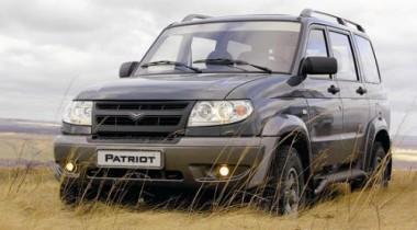 UAZ Patriot вошел в число ста лучших товаров России