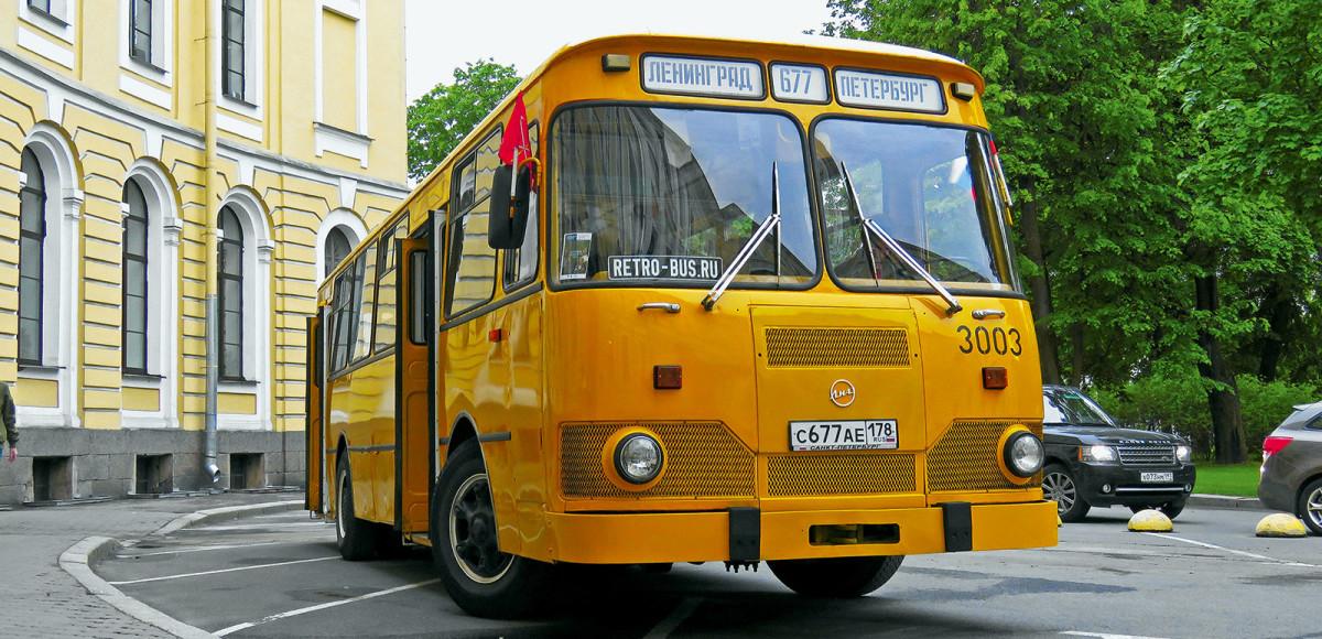 На чем мы ездили: 9 автобусов из СССР