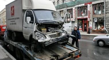 На юго-западе МКАД авария стала причиной огромной пробки