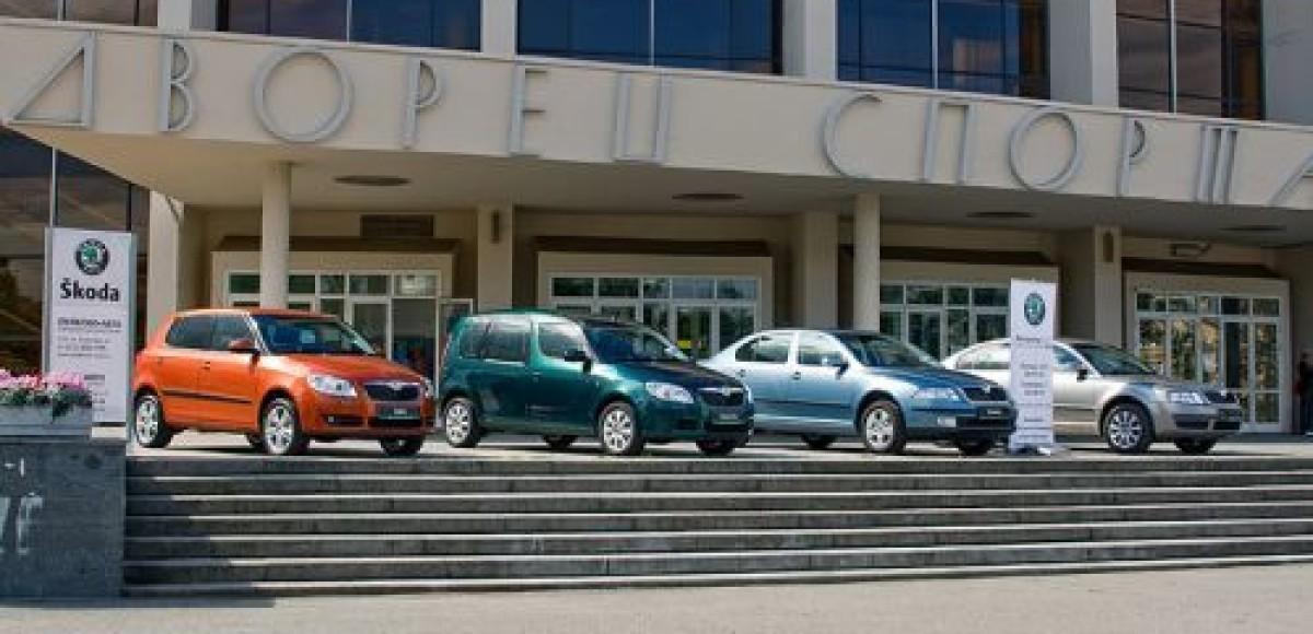 Дилеры Škoda поддержали тур команды победителя Чемпионата мира по хоккею в Санкт-Петербурге