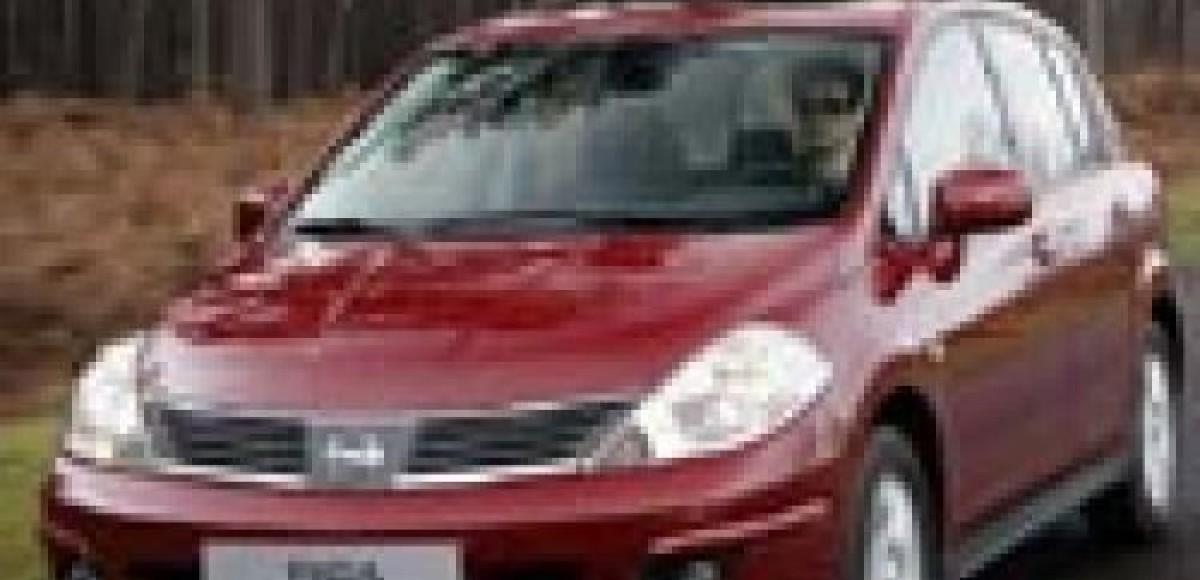 Nissan Tiida. Уже в России