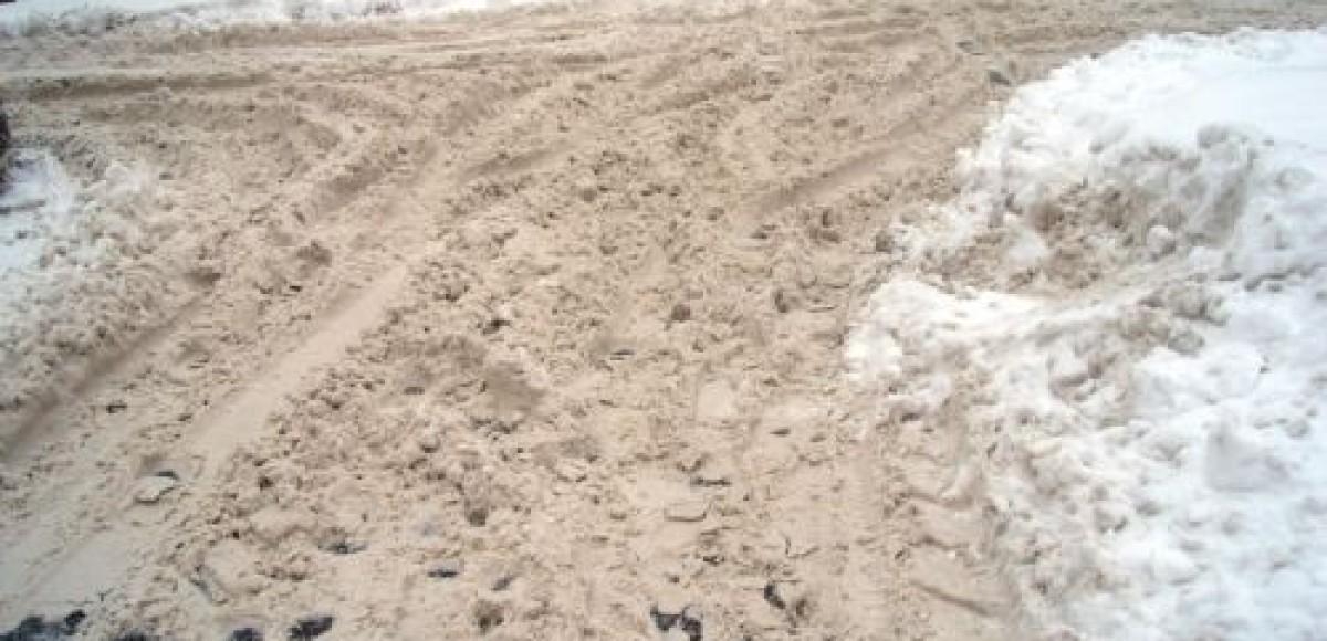 Проверяющие назвали Рублевское шоссе самой неочищенной трассой в Москве
