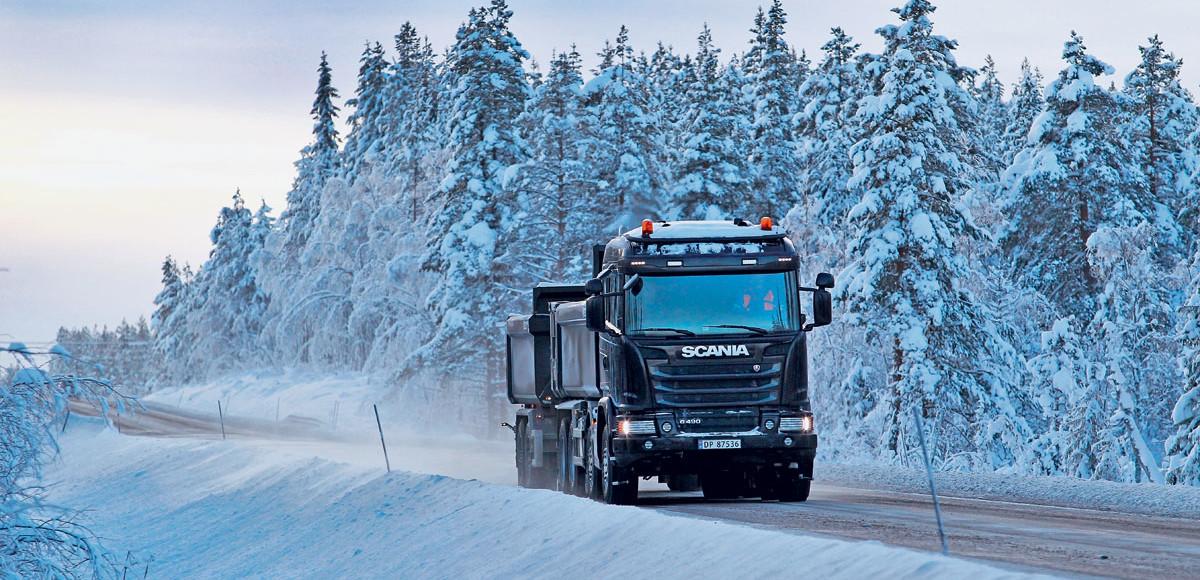 Scania Winter 2016: норвежский извоз