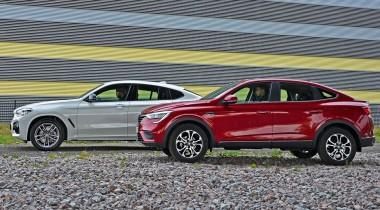 Renault Arkana против BMW X4. Машины из разных миров