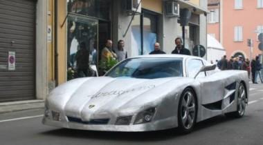 Автолюбитель из Италии самостоятельно построил суперкар