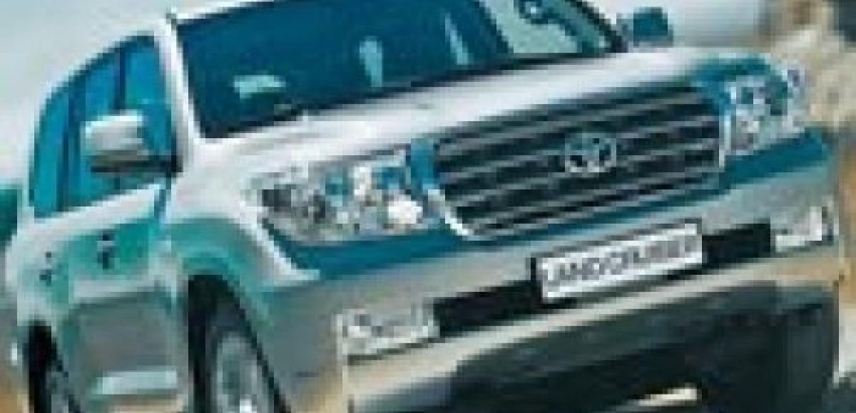 В России начались продажи Toyota Land Cruiser 200
