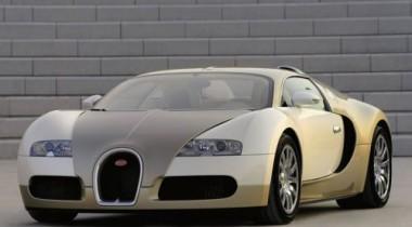Bugatti Veyron стал золотым