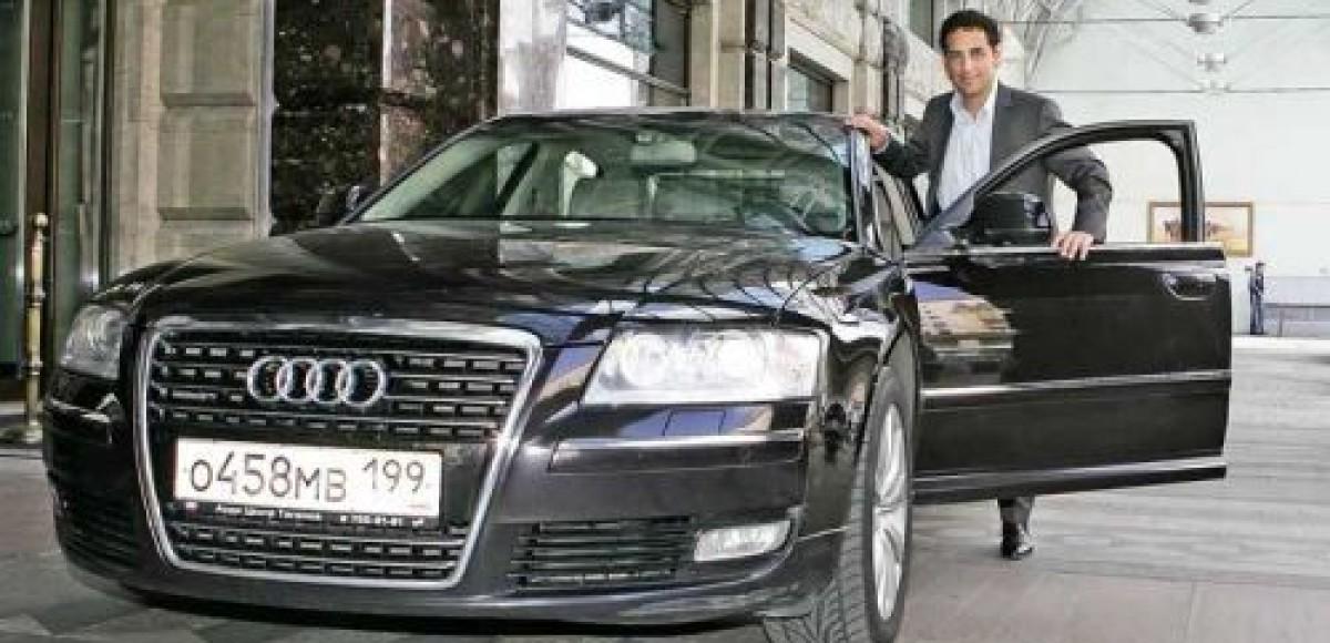 Audi помогла знаменитому тенору Хуану Диего Флоресу в передвижении по Москве