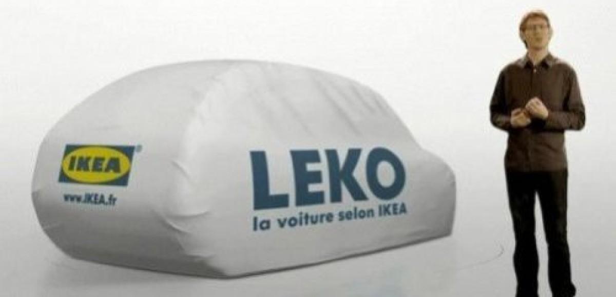 Шведская мебельная компания Ikea представила автомобиль будущего