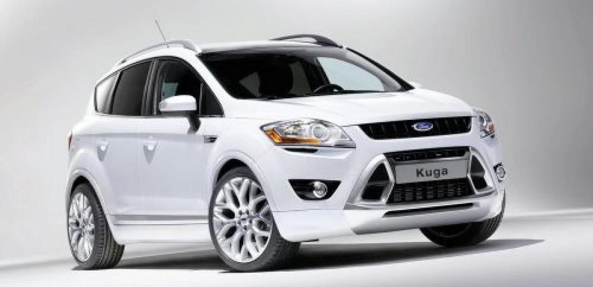 В России теперь доступна для заказа топовая версия Ford Kuga Titanium S