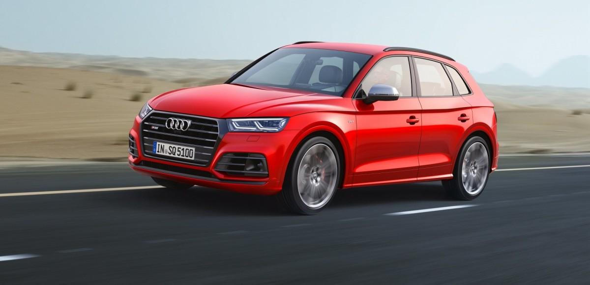 Audi SQ5 выходит на российский рынок
