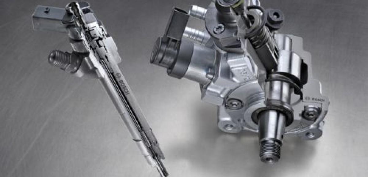 Bosch Сommon Rail для легковых автомобилей: низкий расход топлива, минимальная эмиссия