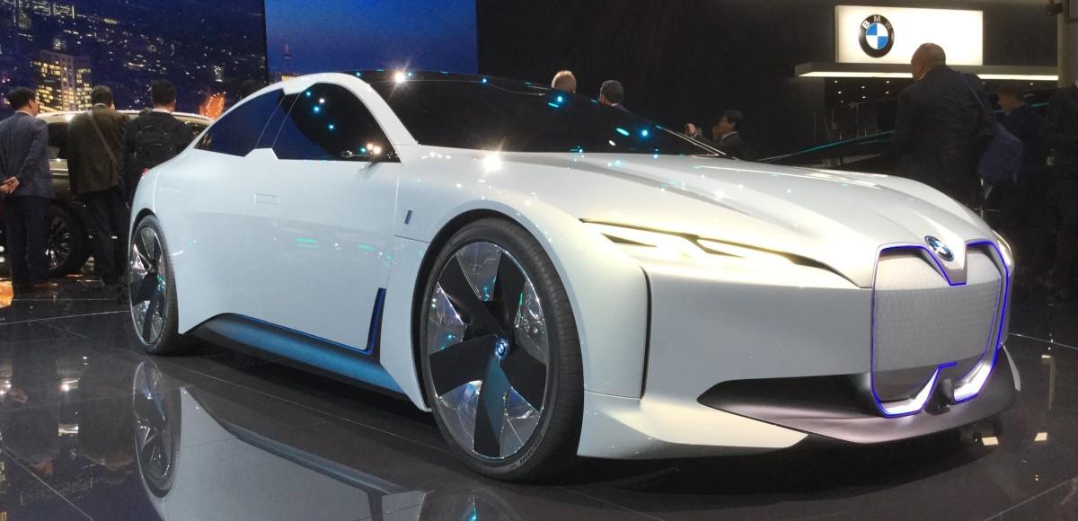 BMW i Vision Dynamics: «электричка» из Баварии