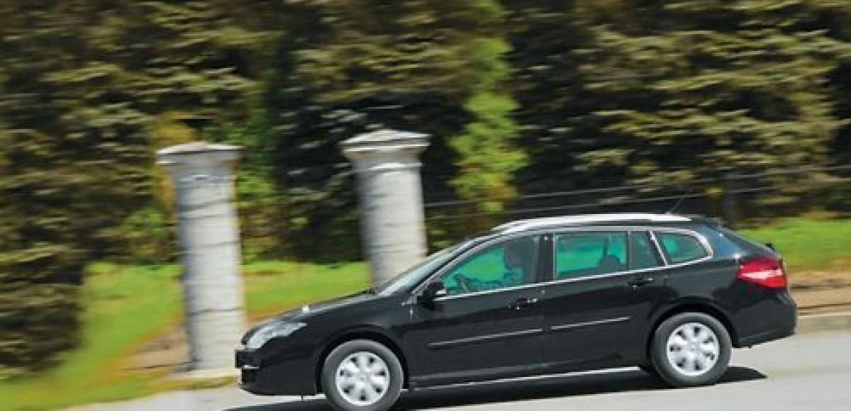 Renault Laguna Estate III. Запретов нет