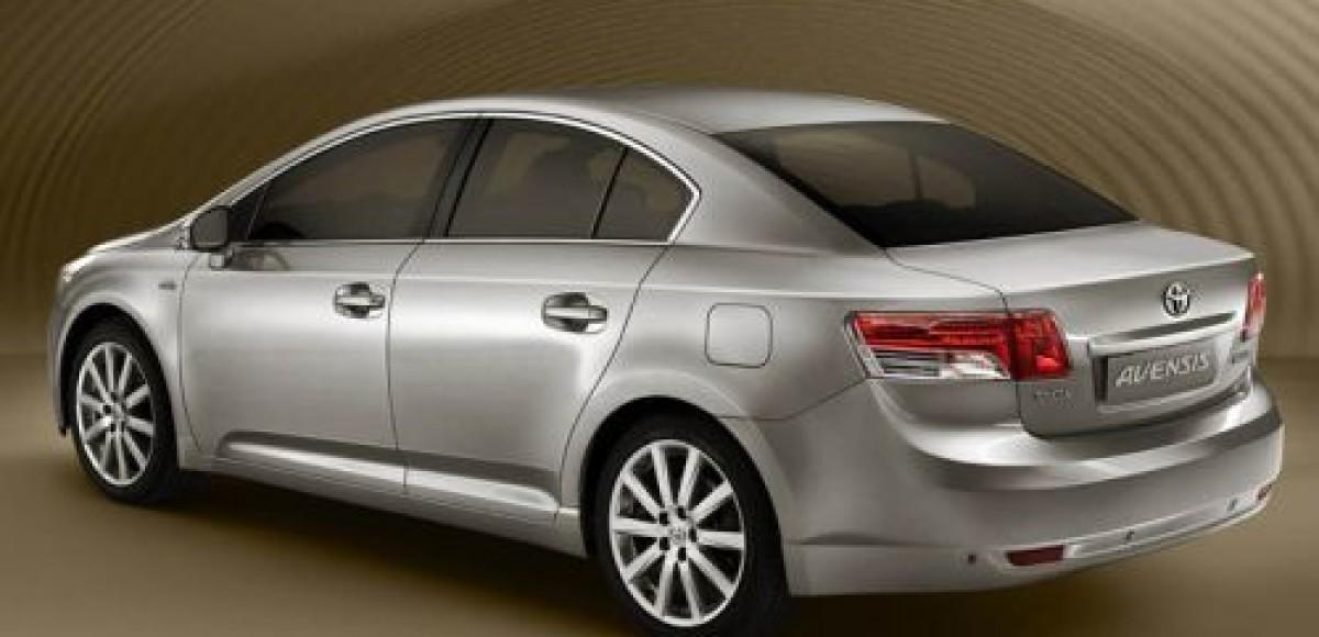 Первым рынком для новой Toyota Avensis станет Россия