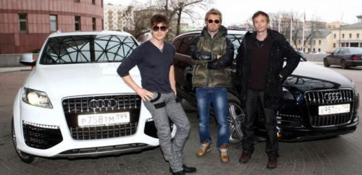 Группа a-ha выбрала Audi для передвижения по Москве