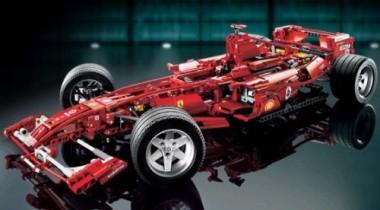 Появился Ferrari от Lego