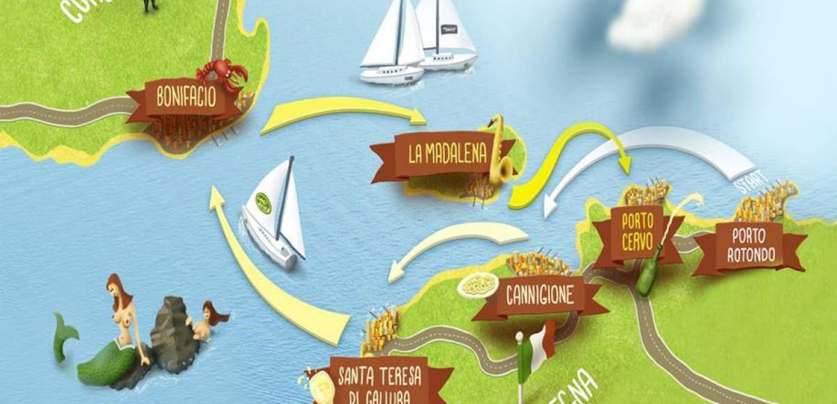 V бизнес-регата Кубок Land Rover Сардиния-Корсика 2012