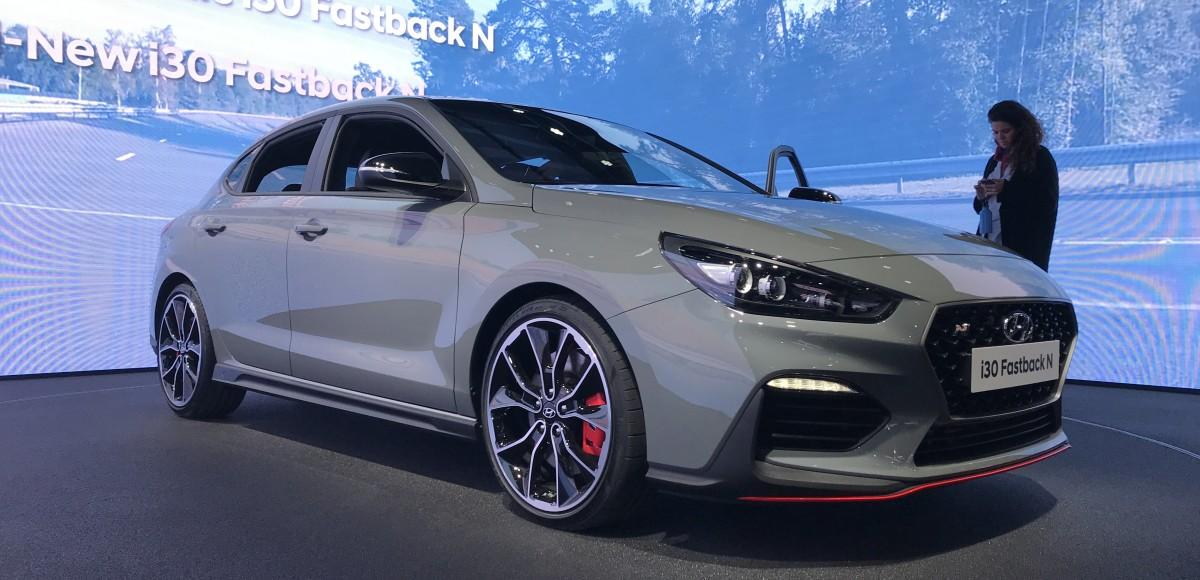 Hyundai i30 Fastback N: спортсмены конкуренции не боятся!