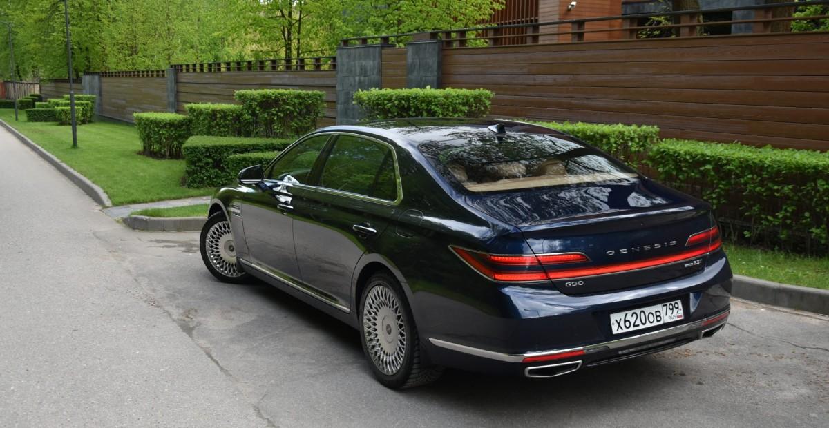 Genesis G90 круче «немцев»? Мои впечатления после двух месяцев за рулем