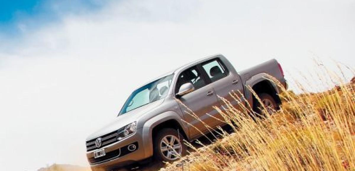 Volkswagen Amarok назван лучшим пикапом в мире