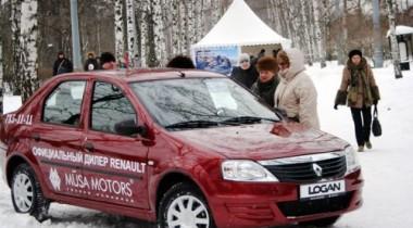 Компания Renault организовала масленичные катания в Сокольниках