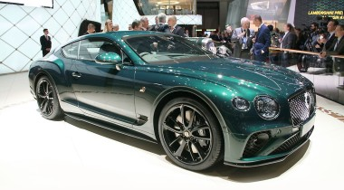 Bentley Continental GT Number 9 Edition: один из ста